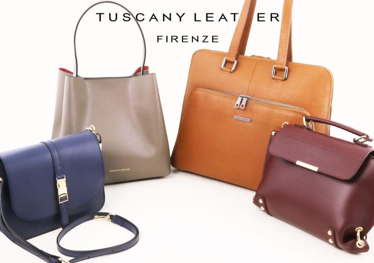 genti dama din piele naturala tuscany leather italia