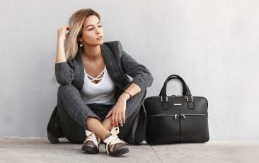 Geanta laptop dama din piele Tuscany Leather