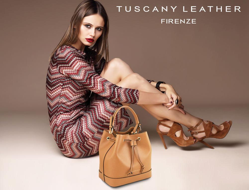 Genti piele naturala dama Tuscany Leather