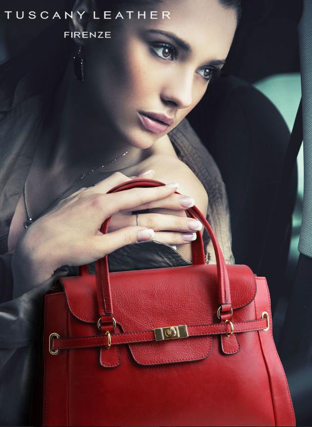 Genti dama din piele naturala Tuscany Leather
