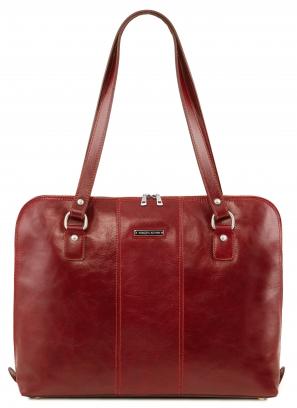 Geanta laptop dama eleganta din piele naturala Tuscany Leather