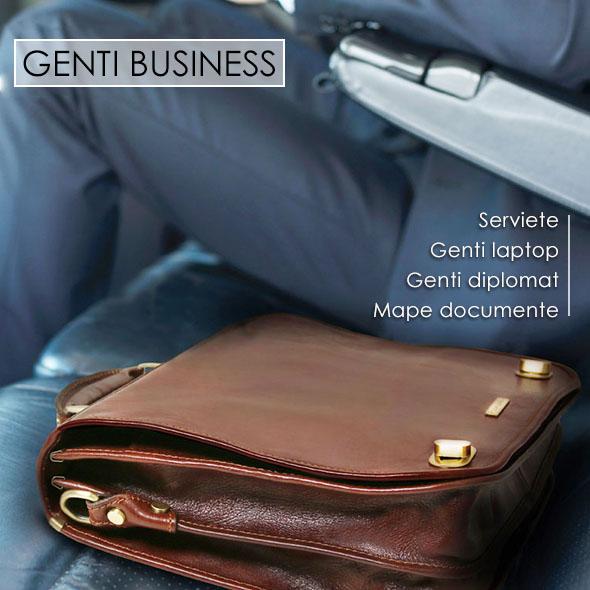 Genti business din piele naturala Tuscany Leather