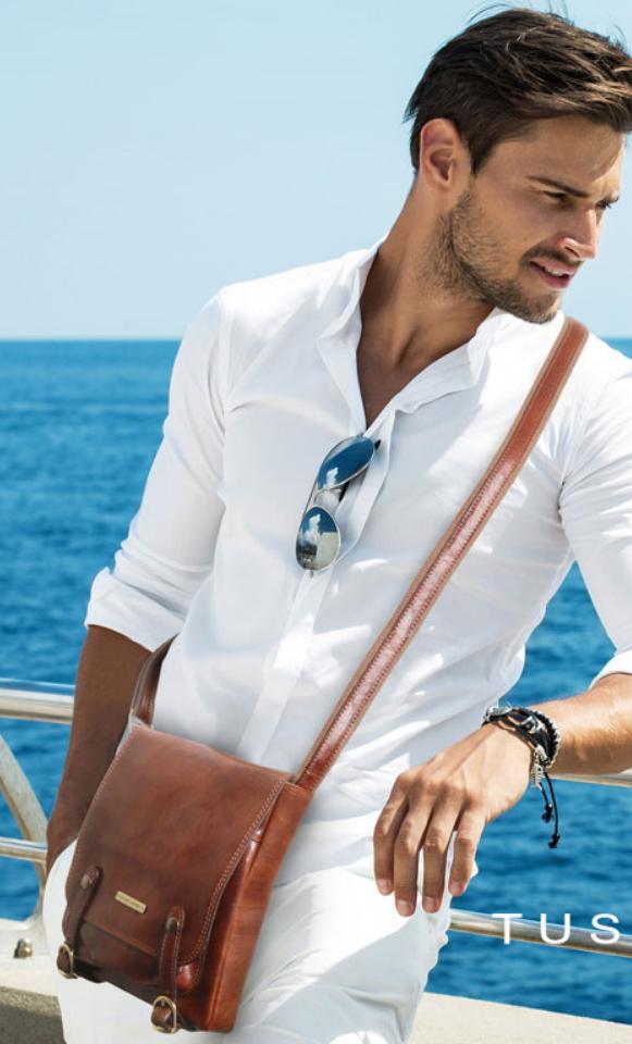 Genti barbati din piele naturala Tuscany Leather