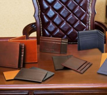 Portofele barbati din piele naturala Tuscany Leather