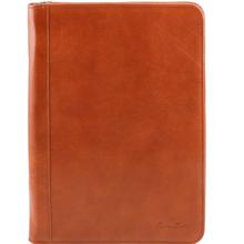 Mapa din piele naturala Tuscany Leather, honey, Luigi