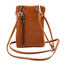 TL Bag Soft Leather cellphone holder mini cross bag Yellow