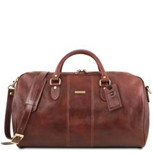 Geanta voiaj din piele maro, marime mare, Tuscany Leather, Lisbona