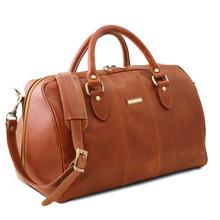 Geanta mica voiaj din piele natural honey, Tuscany Leather