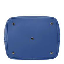 Geanta de mana Tuscany Leather din piele albastra Vittoria