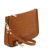 Plic dama piele naturala, scortisoara, Tuscany Leather, Cassandra