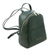 Rucsac mic dama piele naturala Tuscany Leather, verde