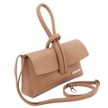 Plic piele dama sampanie Tuscany Leather