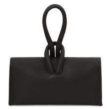 Plic dama din piele naturala, negru, Tuscany Leather