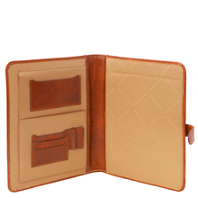 Mapa din piele naturala Tuscany Leather, honey, Adriano