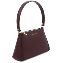 TL Bag Leather mini bag Bordeaux