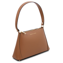 TL Bag Leather mini bag Cognac