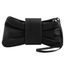 Plic elegant Tuscany Leather, negru, Priscilla