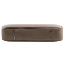 Geanta laptop dama din piele naturala Tuscany Leather, Urbino, neagraS