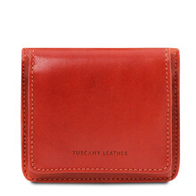 Portofel dama din piele naturala brandi Tuscany Leather