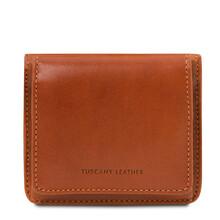 Portofel dama din piele naturala honey Tuscany Leather