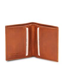 Portofel barbati din piele naturala honey, Tuscany Leather