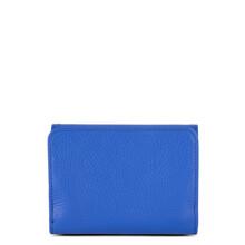 Portofel piele naturala albastru roial Lancaster Foulonne PM 170-29-2