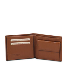 Portofel barbatesc piele naturala coniac Tuscany Leather