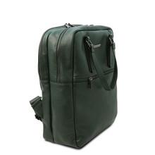 Rucsac barbati piele naturala verde inchis Tuscany Leather