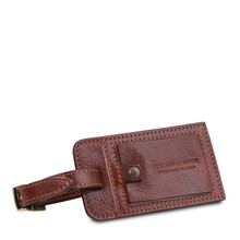 Geanta de voiaj din piele naturala maroTuscany Leather, Voyager