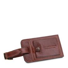 Geanta de voiaj din piele maro Tuscany Leather, marime mare