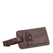 Geanta de voiaj din piele maro inchis Tuscany Leather, Voyager
