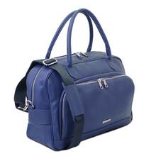 Geanta voiaj piele albastru inchis, Tuscany Leather, TL Voyager Travel