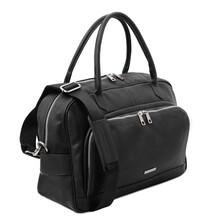 Geanta voiaj piele naturala neagra, Tuscany Leather, TL Voyager Travel
