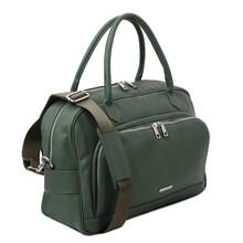 Geanta voiaj piele naturala verde inchis, Tuscany Leather, TL Voyager Travel