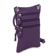 TL Bag Soft leather mini cross bag Purple