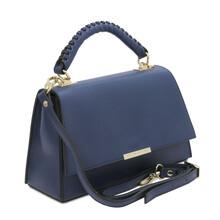 Geanta dama piele albastru inchis Tuscany Leather, TL Bag