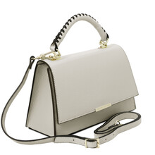Geanta dama piele gri deschis Tuscany Leather, TL Bag