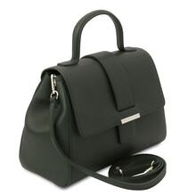 Geanta dama piele naturala verde, Tuscany Leather, TL Bag