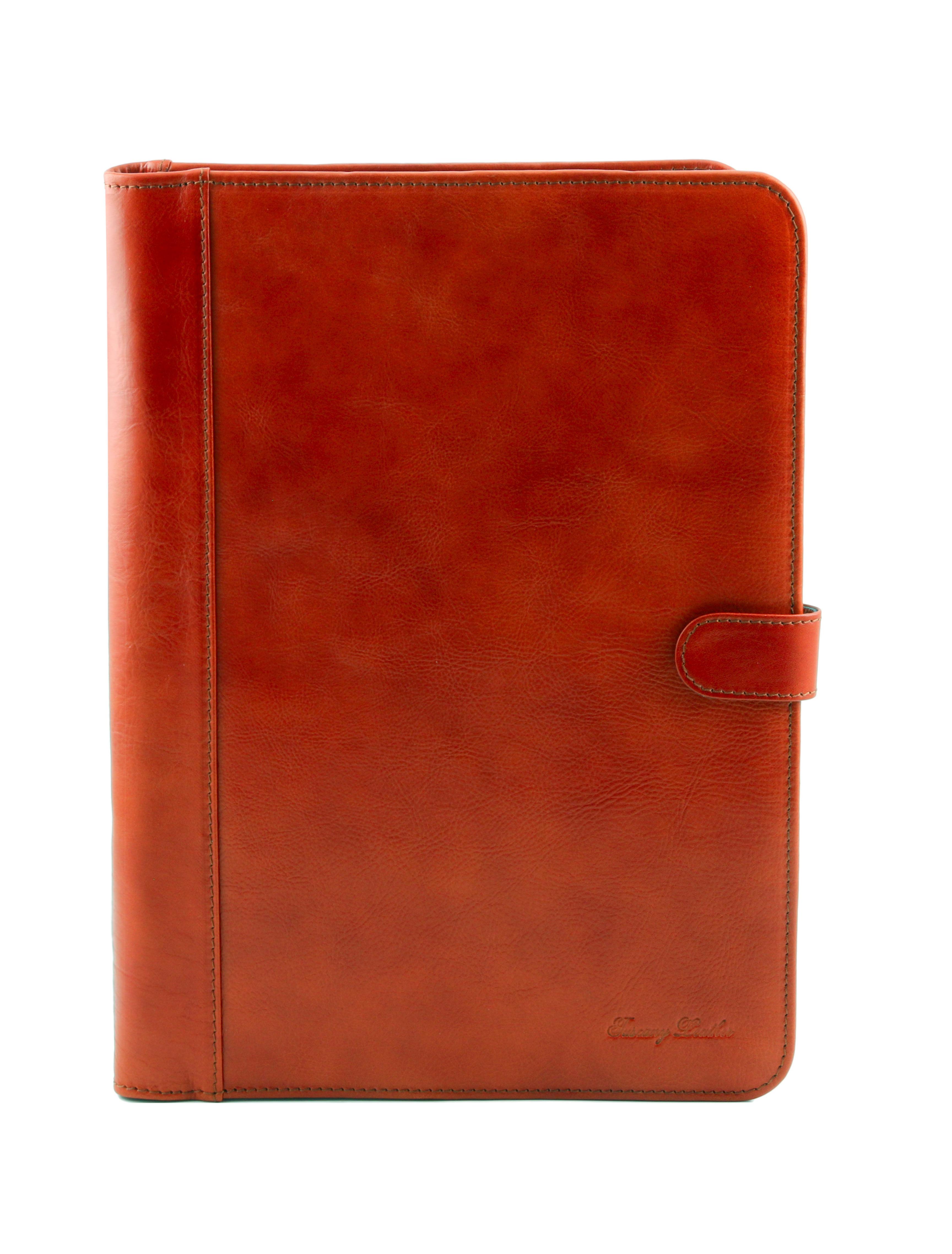 Mapa din piele naturala Tuscany Leather, honey, Adriano