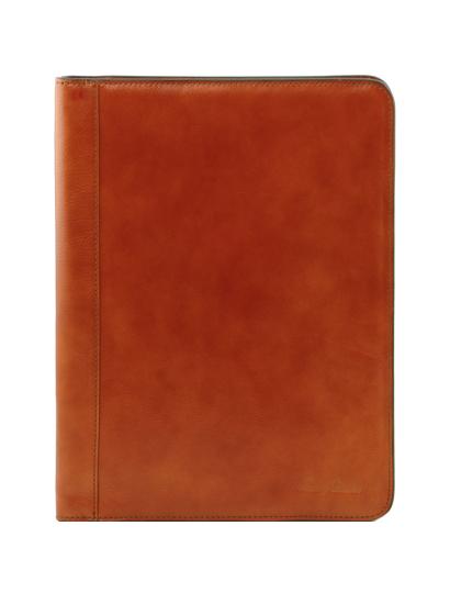 Mapa documente Tuscany Leather din piele naturala honey Lucio