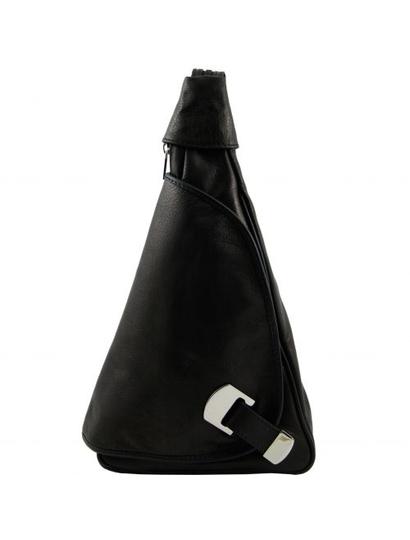 Genti dama | Hanoi - Rucsac din piele negru - Tuscany Leather