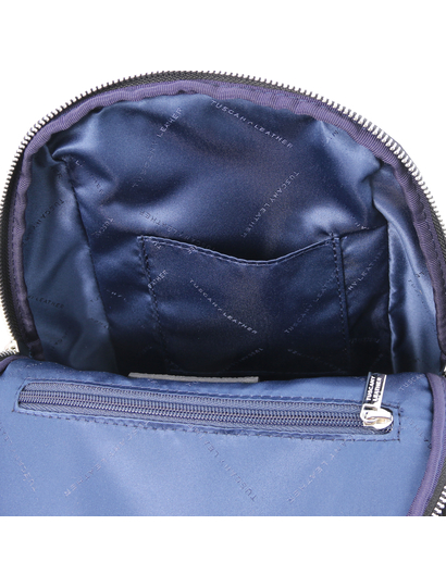Rucsac negru dama, piele naturala, Tuscany Leather, TL Bag