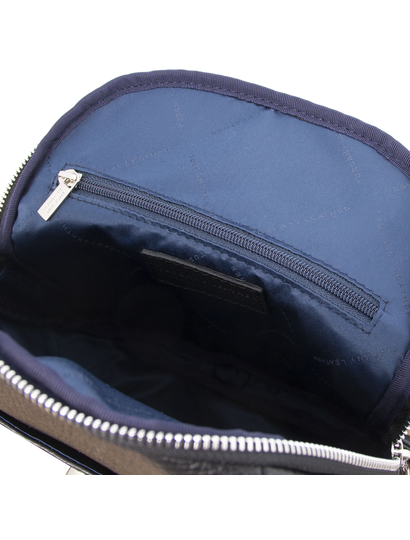Rucsac negru de dama, din piele naturala, Tuscany Leather, TL Bag
