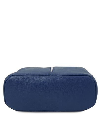 Rucsac dama, piele naturala albastru, Tuscany Leather, TL Bag