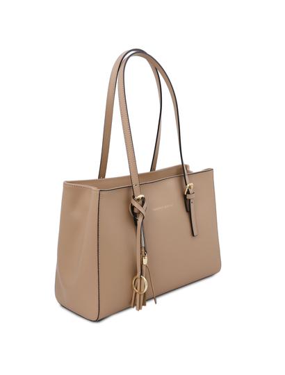 Geanta de dama de umar, piele naturala sampanie, Tuscany Leather, TL Bag