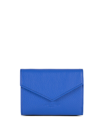 Portofel piele naturala albastru roial Lancaster Foulonne PM 170-29-1