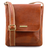 Geanta piele naturala barbati Tuscany Leather, honey, Jimmy