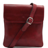 Geanta barbati din piele naturala  Tuscany Leather, rosie, Joe