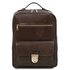Rucsac laptop din piele naturala maro inchis Tuscany Leather, Kyoto