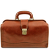Geanta doctor din piele naturala Tuscany Leather, honey, Raffaello